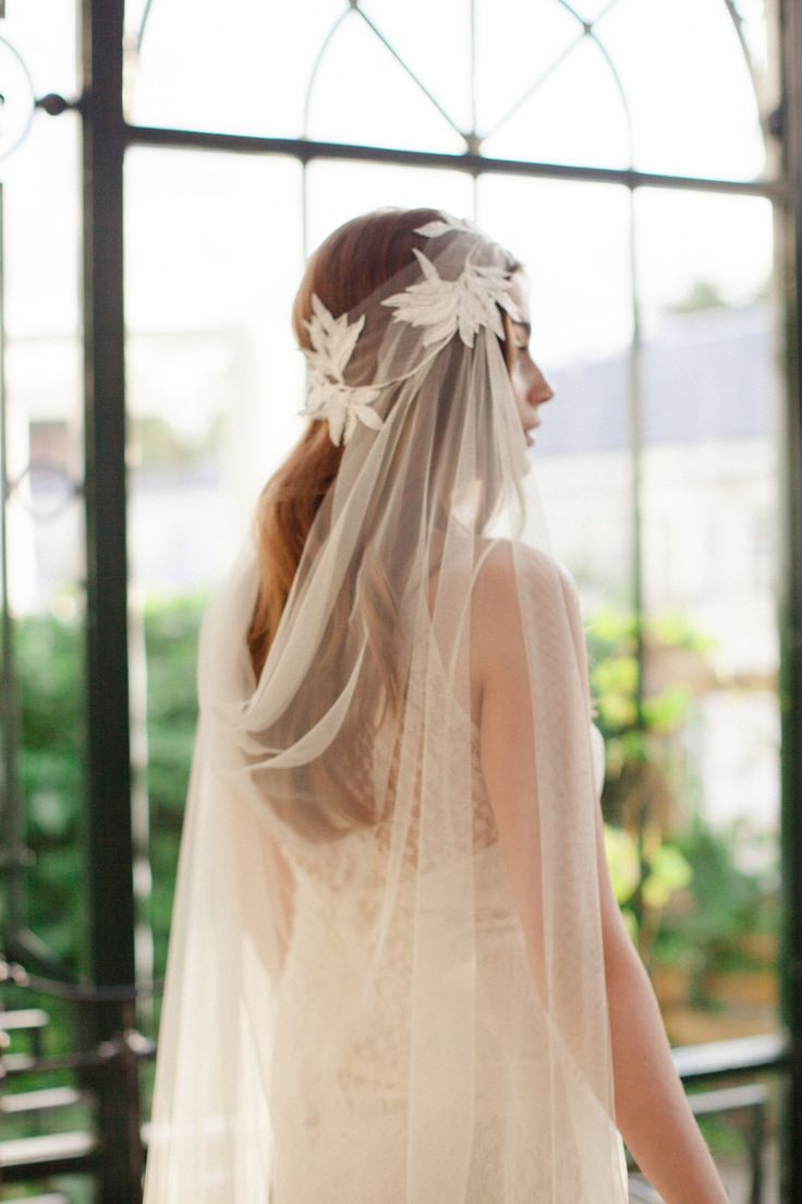 Unique bridal headpieces and veils