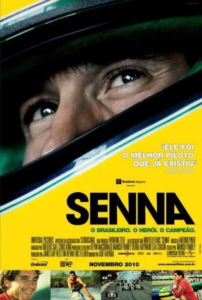Senna - 2010 - DVDRip Film Afis Movie Poster