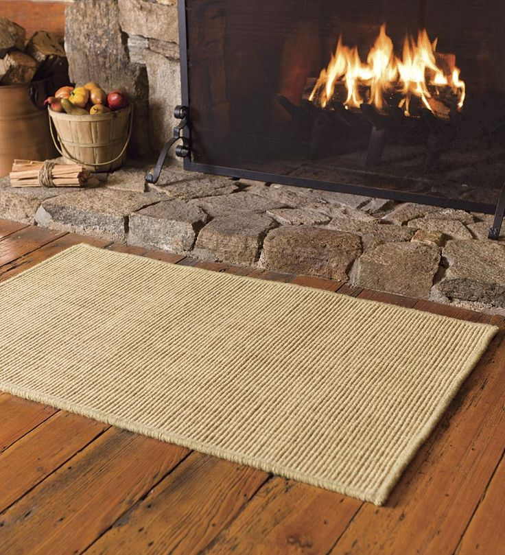 Distance From Fireplace To Rug: Fire Resistant Dalton Hearth Rugs - Plow & Hearth