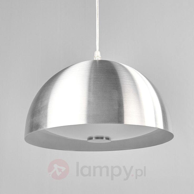 Piękna metalowa lampa wahadłowa LED ROSALIA 9625073