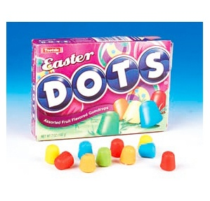 Easter Dots Candy Theater Boxes: 12-Piece Case