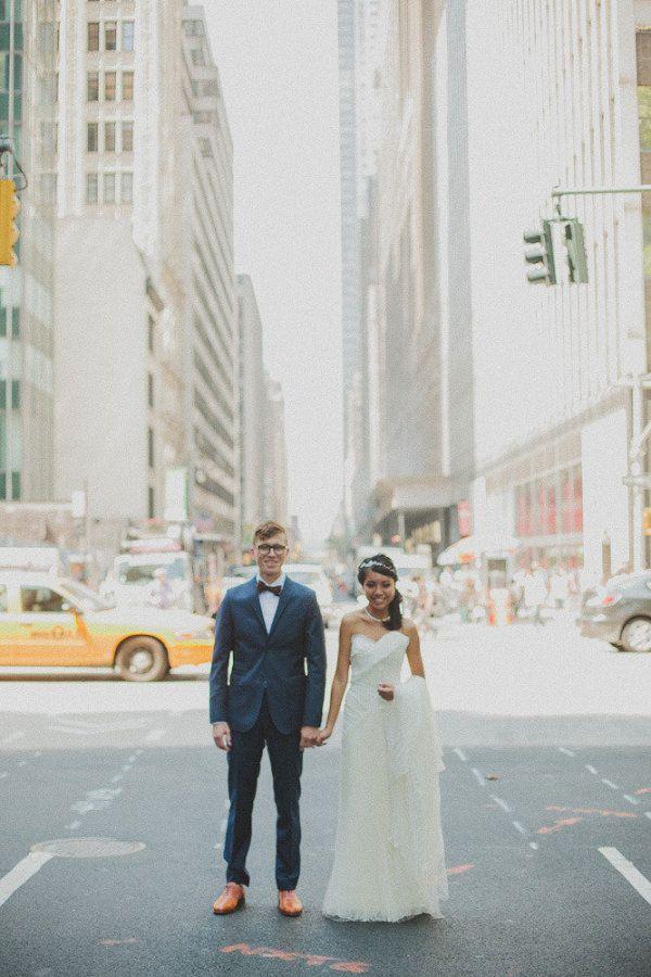 Bronx Wedding at The New York Botanical Garden from Chaz Cruz | The Wedding Story