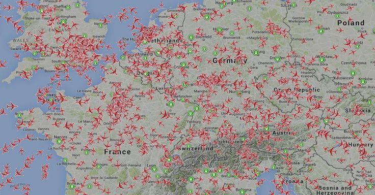 Flug-Tracking live: Flugstatus, Flugradar, Flugverfolgung