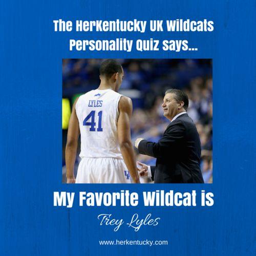 My Favorite UK Wildcat is Trey Lyles! HerKentucky.com