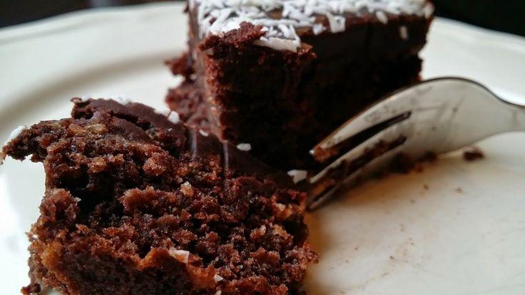 Gluten- og melkefri inspirasjon: Saftig gluten- og melkefri langpanne sjokoladekake...