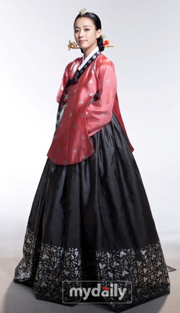 Traditional Korean Hanbok Dress