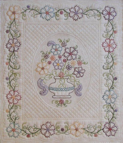 399 best Whole cloth quilts images on Pinterest | Free motion ... : whole cloth quilts for sale - Adamdwight.com