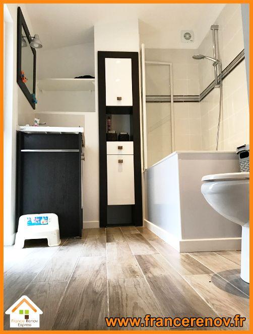 Rénovation complète de salle de bains à Bauvin in 2018 Salles de - renovation electricite maison ancienne