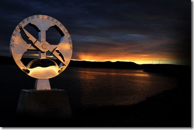 Astrolabe Monument in Channel-Port aux Basque