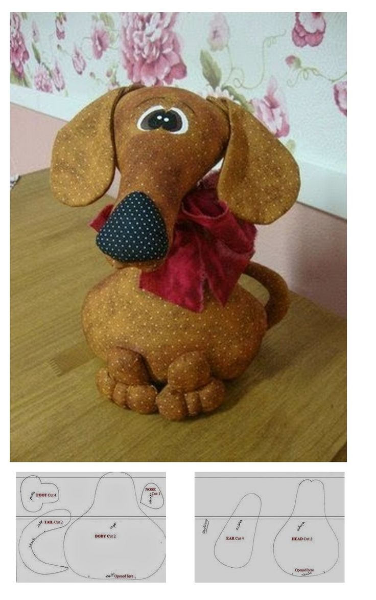 Dachshund, scroll a little down to find this pattern. More patterns on the website.