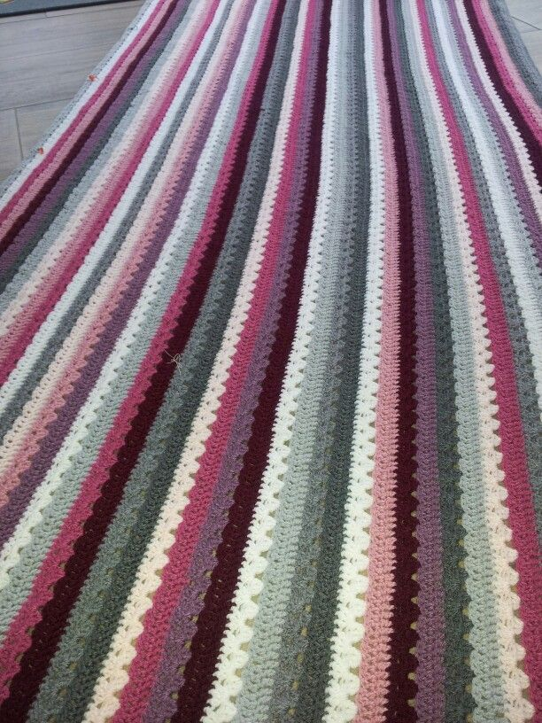 Cosy blanket patroon van lucy attic 24