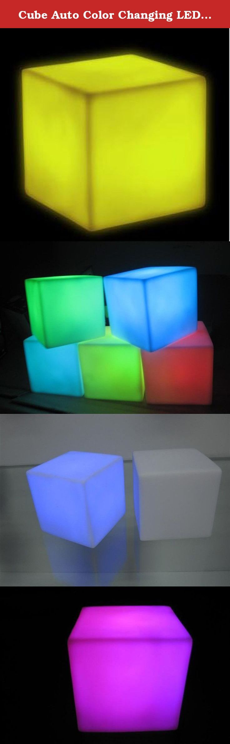 Cube Auto Color Changing LED Lamp Baby Kid Children Mood Lamp Night. Our Mood Cubes are a great stocking stuffer for you and yours. They bring a mellow glow to any room.