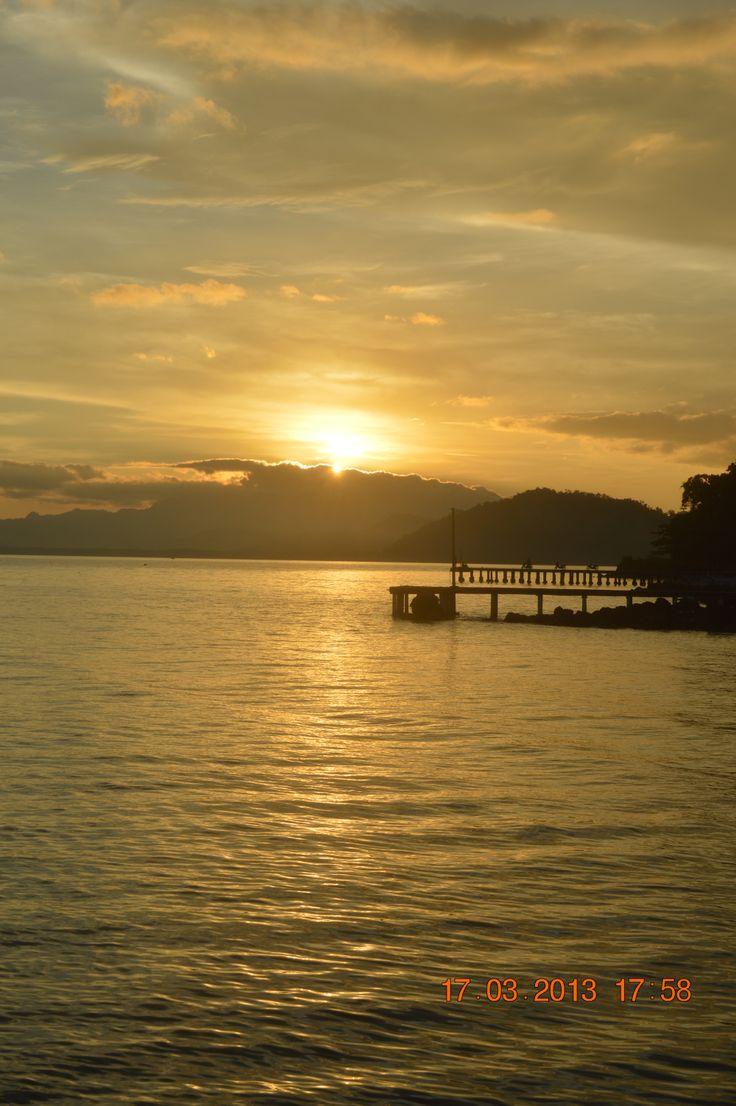 Sunset at Ketapang