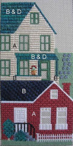 11-06-21 neighberhood 2, needlepoint