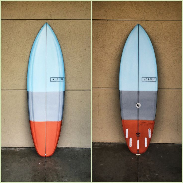 """6'2"""" Sledge  - Album Surfboards"""