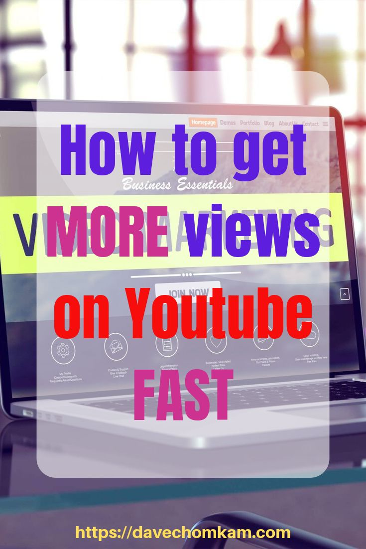 How To Get More Views On Youtube Fast How To Read Faster Online Marketing Blog Youtube