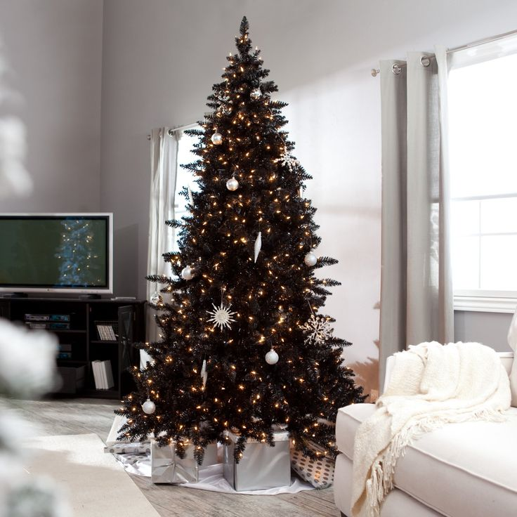 Ideas: Cute Pre Lit Christmas Tree Clearance On Cowhide Rugs And Laminate Wood Flooring Plus Jcpenney Curtains Also Dark Sauder Tv Stand