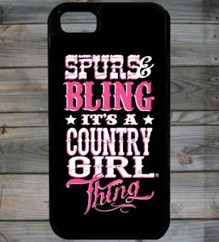 I need this!!!! | Country Girl ® Bling Thing iPhone 5 Phone Case/Cover