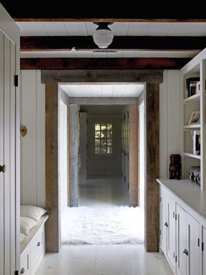 Adding a new addition on an old house... Traditional Farmhouse Decorating Ideas - Farmhouse Design Ideas - Country Living