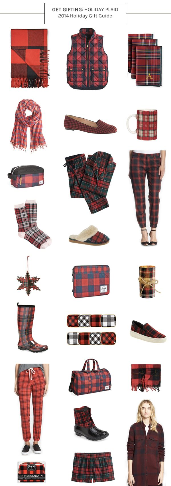 < holiday gift guide for all the plaid enthusiasts! > #giftguide #plaid