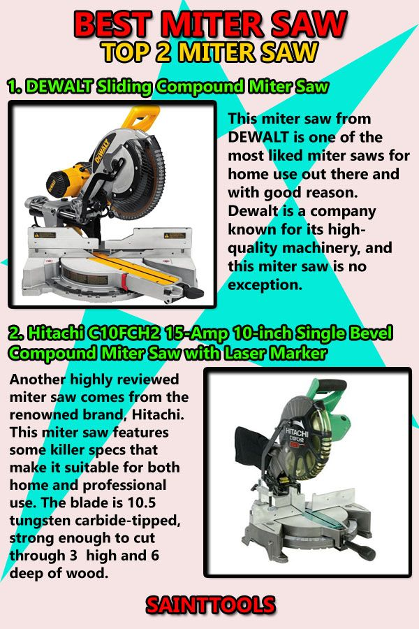 Best Miter Saw For Homeowner Miter Saw Sliding Compound Miter Saw Mitered