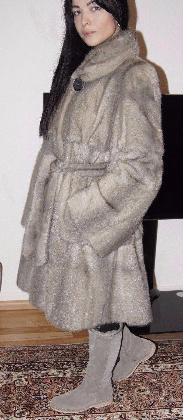 SALE Pelzmantel Nerzmantel Nerz Nerzjacke Mink fur coat Visone норковая шуба | eBay