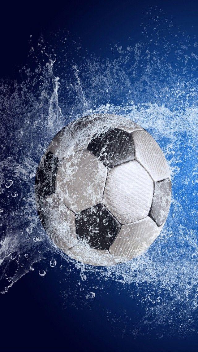 Football Soccer Ball Splash Iphone X Wallpaper Soccer Ball Football Wallpaper Soccer Backgrounds Iphone x wallpaper soccer