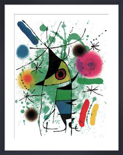 The Singing Fish Art Print by Joan Miro at King & McGaw