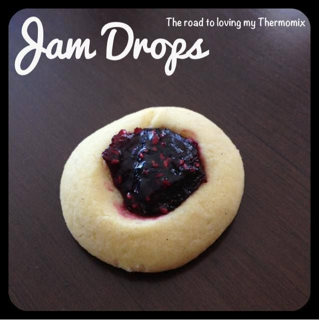Jam Drops - The Road to Loving my Thermomixer
