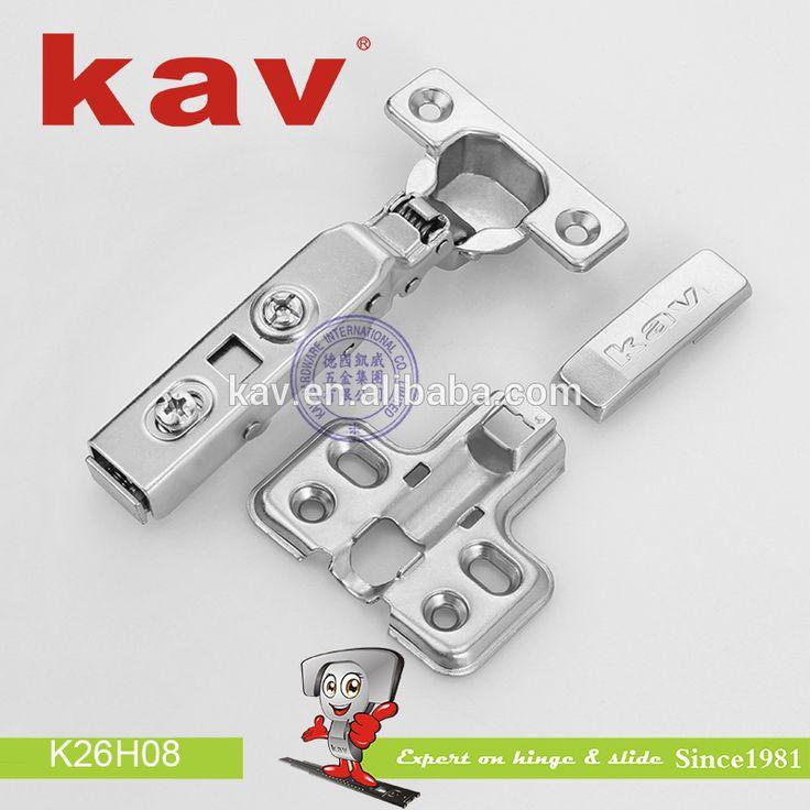 K26H08 kav factory 26mm cup continuous hinges hydraulic cabinet kitchen hidden door curve hinge