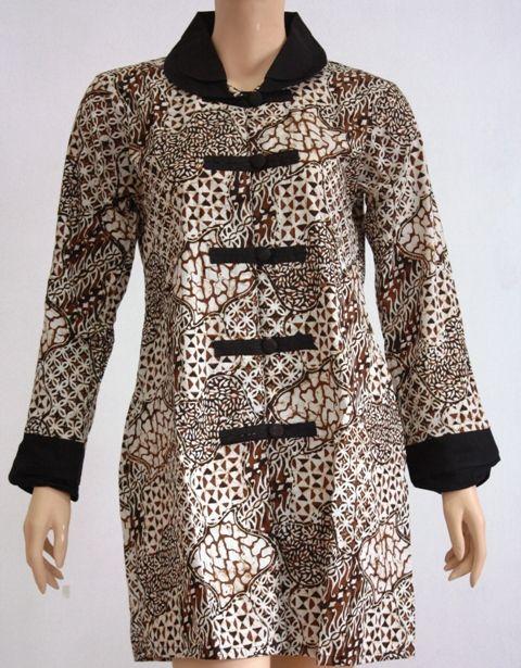 Model Baju Batik Wanita Blouse