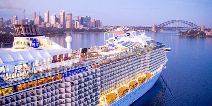 Ovation of the Seas Asia Cruise w/Balcony & Flights