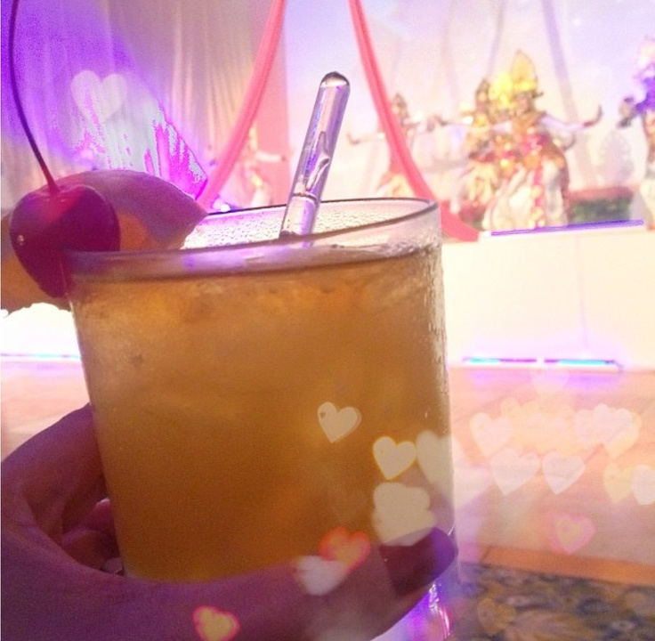 Mai Tai...which I think is a traditional Indonesian drink...☺