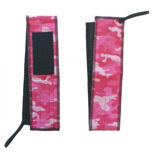 Pink Camo Wrist Wraps