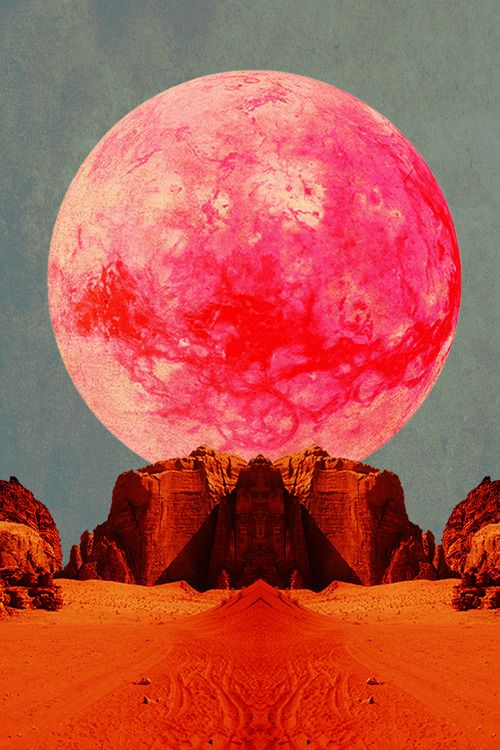 pink desert moon #the2bandits #gowest