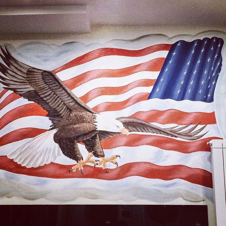 Ceva frumos... #american #flag