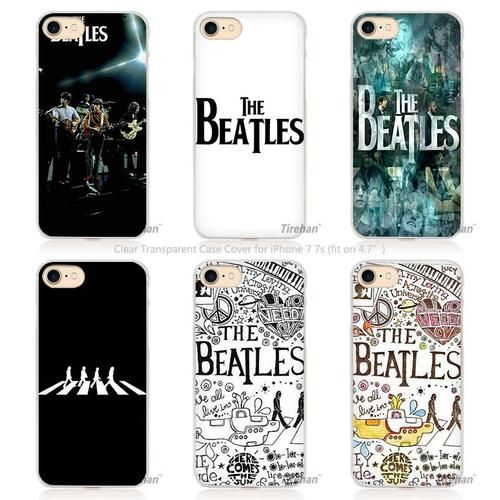 Beatles Abbey Road Music England Britain Hard Transparent Phone Case Cover for Apple iPhone