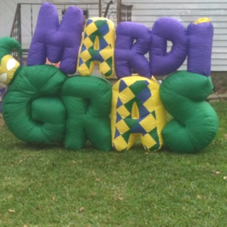 Mardi Gras Blow-upGras Ideas, Gras Blowup, Gras Blowing Up, Mardi Gras