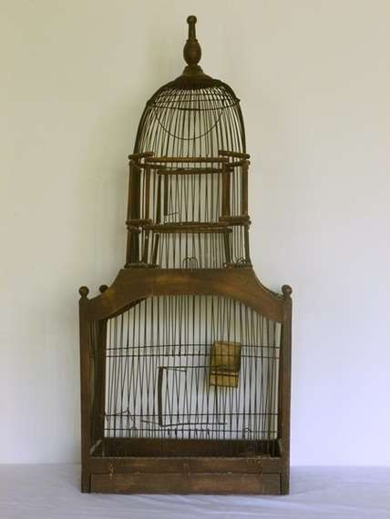 1064 best images about bird cage on pinterest antiques for Cage a oiseau decorative