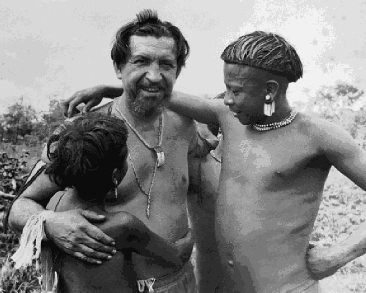Orlando Villas Boas no Xingu