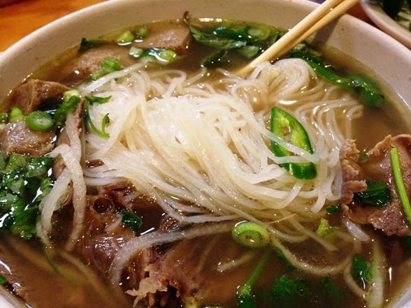 Thai/Lao noodle soup....comfort food at it's best!