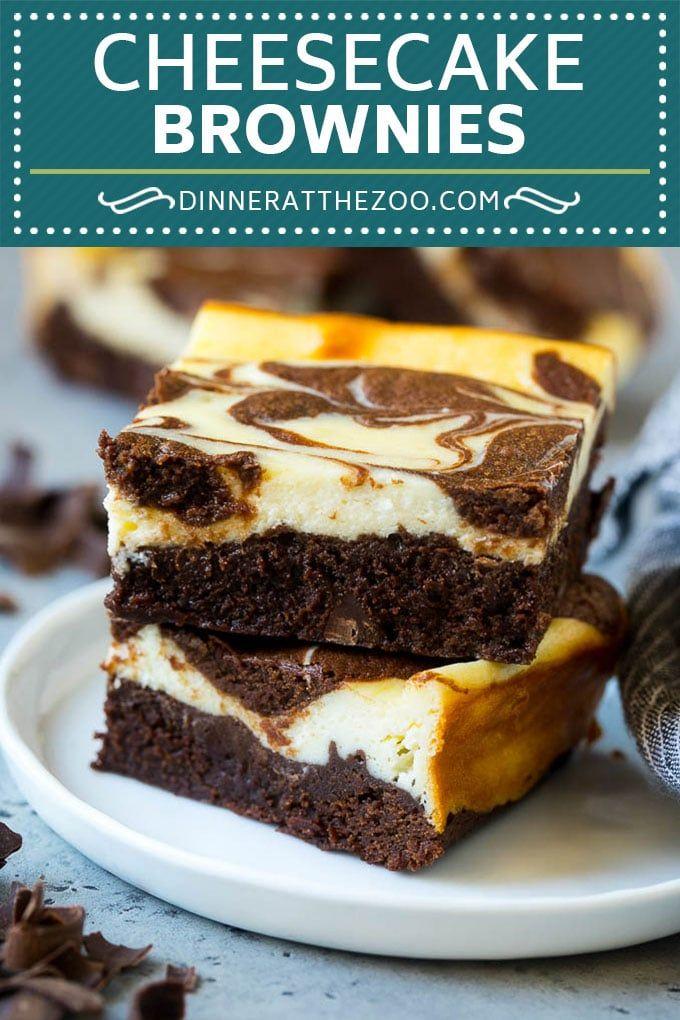 Cheesecake Brownies Recipe Cream Cheese Brownies Homemade Brownies Brownies Cheesecake Ch Brownie Recipes Cheesecake Brownies Recipe Cheesecake Brownies