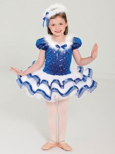 Let it Snow - Style 0189 | Revolution Dancewear Children's Dance Recital Costume