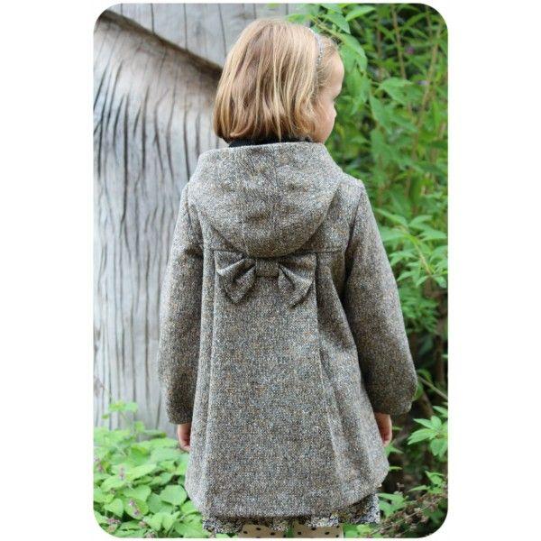 Manteau Célestine - 1 Taille au choix du 2 au 12 ans