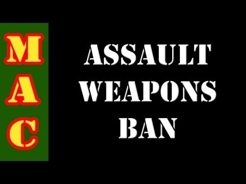 Assault Weapons Ban 2013    Dianne Feinstein has released details for her proposed 2013 Assault Weapons Ban.  This new Assault Weapons Ban is far more restrictive than the 1994 law she helped to pass.  This new law will ban many popular handguns, rifles and shotguns and will require registration for most gun owners.  Please get involved to stop th...