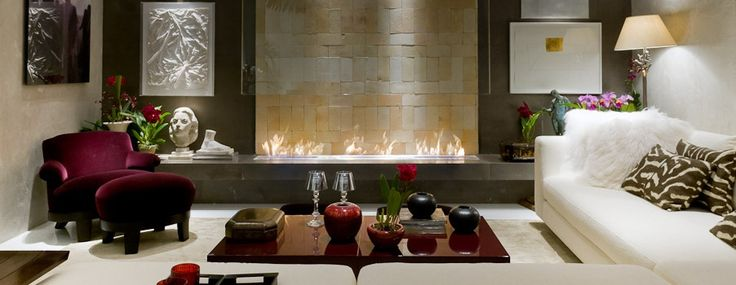 Design fireplace gives aesthetic touch to the surrounding area along with warmth and vibrant flame. http://www.a-fireplace.com/design-fireplace/