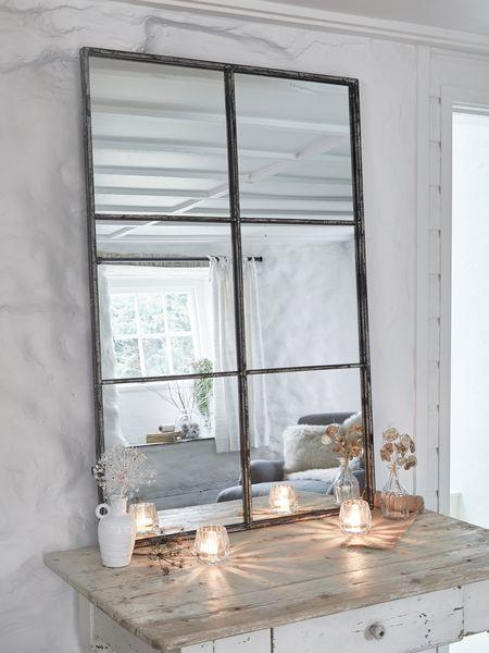 Loft-Style Window Mirror - 6xAB - Nordic House