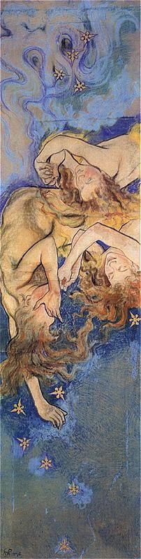 "Stanislaw Wyspianski ""The precipitated angels"""