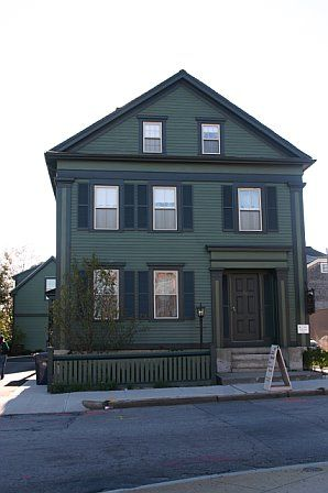 Lizzie Borden House in Fall River MA