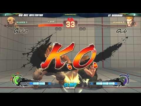 Ultra Street Fighter IV: Decapre vs Gouken, in-Game - YouTube